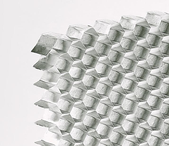 Aluminium Honeycomb Cel Components